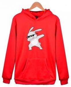 Dabbing Rabbit Hoodie ZNF08