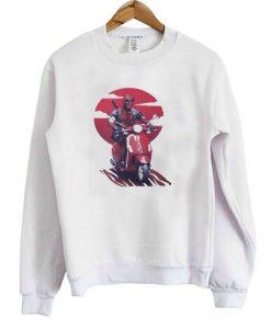 Deadpool Vespa Sweatshirt AY