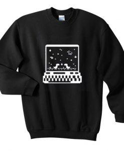 Dinosaur game sweatshirt AY
