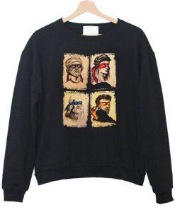 Donatello Raphael Leonardo Michelangelo Sweatshirt AY
