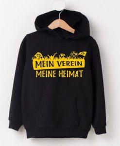 Dortmund Mein Verein Meine Heimat Hoodie ZNF08