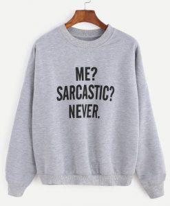 Drop Shoulder Seam Sweatshirt AY