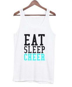 Eat Sleep Cheer Tanktop AY
