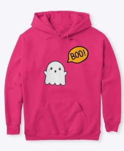 Ghost Boo Hoodie ZNF08