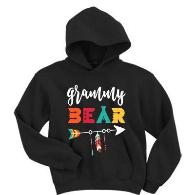 Grammy Bear Hoodie ZNF08