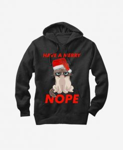 Grumpy Cat Have a Merry Nope Hoodie ZNF08