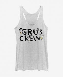 Gru's Crew Tank Top ZNF08