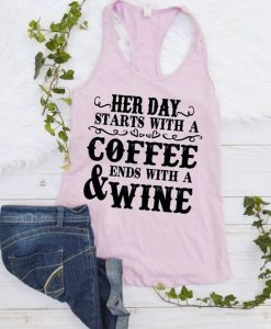 Her day starts with a coffee tank ZNF08