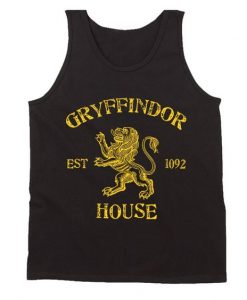 House Gryffindor Harry Potter Men's Tank Top AY