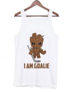 I Am Goalie Tank Top AY