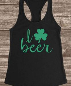 I Love Beer TANK TOP ZNF08