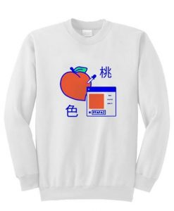 Japanese Peach sweatshirt ZNF08