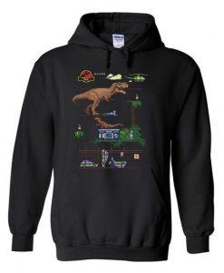 Jurassic Park Dino Hoodie ZNF08