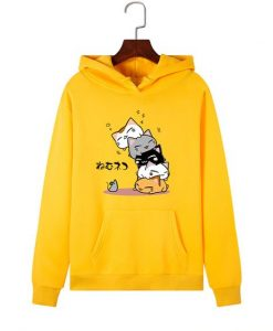 Kawaii Cat Hoodies ZNF08