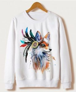 King-Fox-Sweatshirt ZNF08