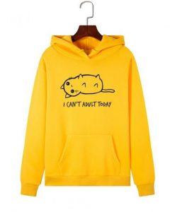 Lazy Cat Hoodie ZNF08