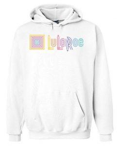 LuLaRoe Logo White hoodie ZNF08