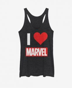 Marvel I Love Tank Top ZNF08