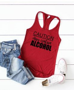 May Contain Alcohol Tank top ZNF08