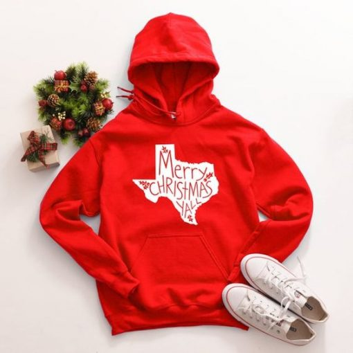 Merry Christmas RED HOODIE ZNF08