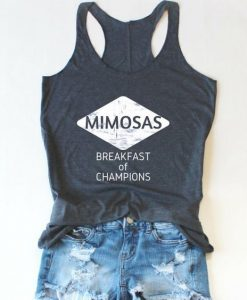 Mimosa Shirt Day Drinker Brunch Tank TOP ZNF08