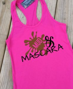 Mud and Mascara Raspberry Fitted Tank ZNF08