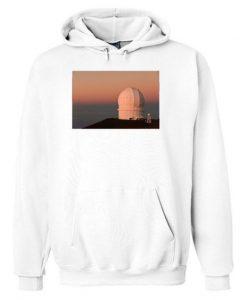 Observatory Atop Mauna Kea Hoodie ZNF08
