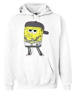 Pondering Spongebob Drawstring Hoodie ZNF08