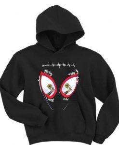 Post Malone stay away always tired Spiderman Hoodie ZNF08