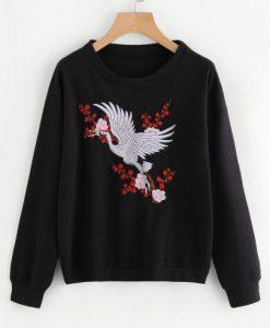 black and red Sweatshirt DAP