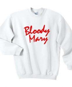 bloody mary sweatshirt DAP