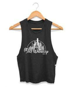disney parody Womans Crop Tanktop AY