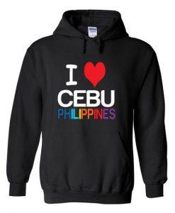 i love cebu philippines hoodie ZNF08