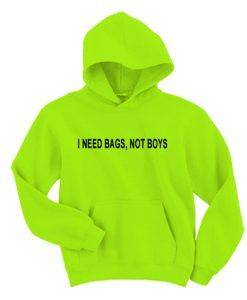 i need bags not boys hoodie ZNF08