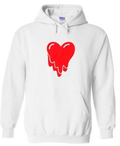 melting heart hoodie ZNF08
