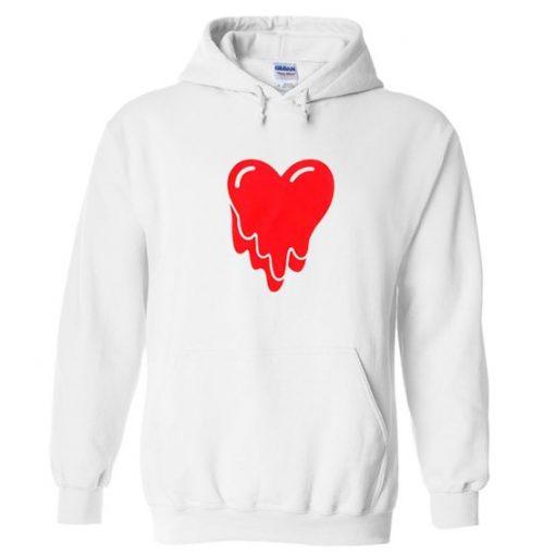 melting heart hoodie ZNF08