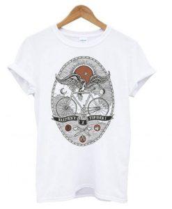 Element Bird On Bike T shirt ZNF08