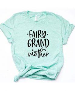 Fairy Grandmother Crew Neck Tee ZNF08