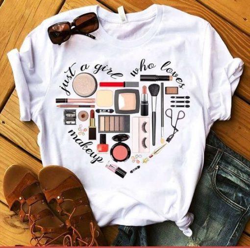 Love Makeup T-shirt ZNF08