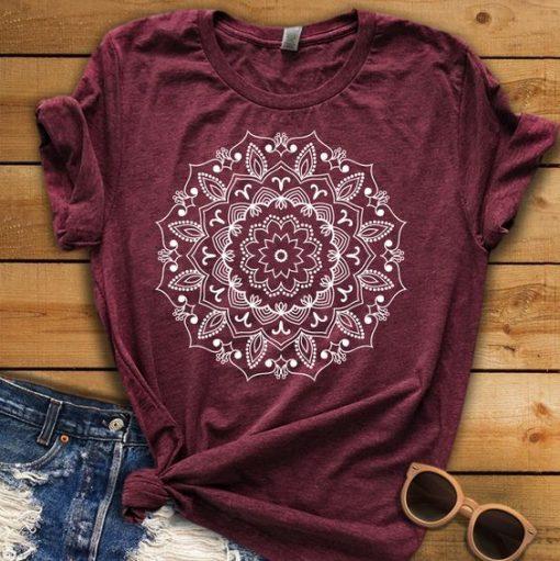 Mandala Shirt ZNF08