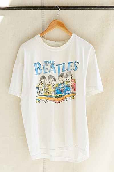 Vintage The Beatles Band T-Shirt ZNF08