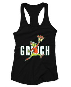 Air Grinch Woman's Racerback Tank Top ZNF08