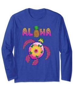 Aloha Honu Turtle Sweatshirt ZNF08