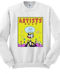Artists Only Squidward sweatshirt ZNF08