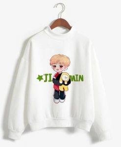 BTS Figure Sweatshirt ZNF08
