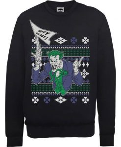 Batman Happy Holiday Sweatshirt ZNF08