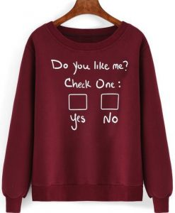CHECK ON SWEATSHIRT ZNF08