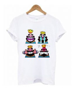 Clash Royale Emoji t shirt ZNF08