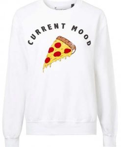 Current Mood Pizza Sweatshirt ZNF08