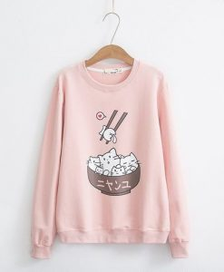 Cute Cat SWEATSHIRT ZNF08